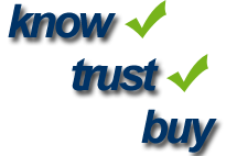 Know, trust, buy. Erich Stauffer Marketing Consulting.