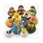 One Dozen Rubber Ducky Ducks