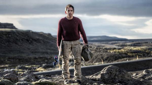 Ben Stiller as Walter Mitty Longboarding in Greenland
