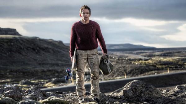 Ben Stiller as Walter Mitty Longboarding in Greenland