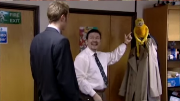 The Office UK Monkey