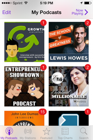 600 Hours of Business Podcasts