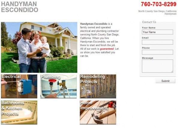 Handyman Escondido