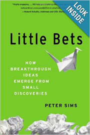 Little Bets- How Breakthrough Ideas Emerge from Small Discoveries