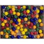 Map Tacks Assorted Colors
