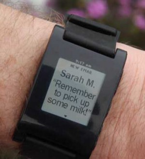 Pebble Watch Notification Alerts