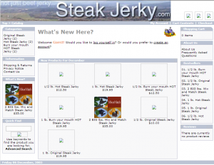 SteakJerky.com - Not just beef jerky...Steak Jerky