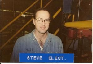 Steve Stauffer, Electrician