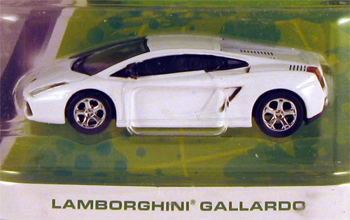 White Lamborghini Toy Car